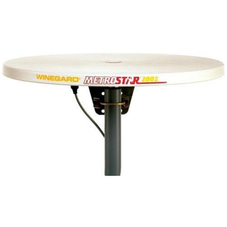 Amplified TV Antenna White