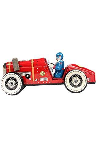 TIN WIND-UP ROADSTER   EACH