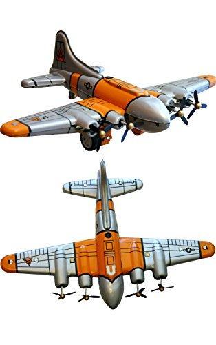 TIN PLANE B17 FLYFORTS EACH