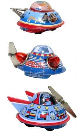 TIN SPACE SHIPS        BOX3