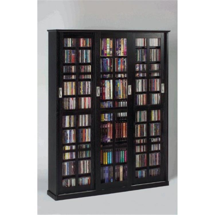 Leslie Dame Multimedia Wall Cabinet [Item # MS-1050B]