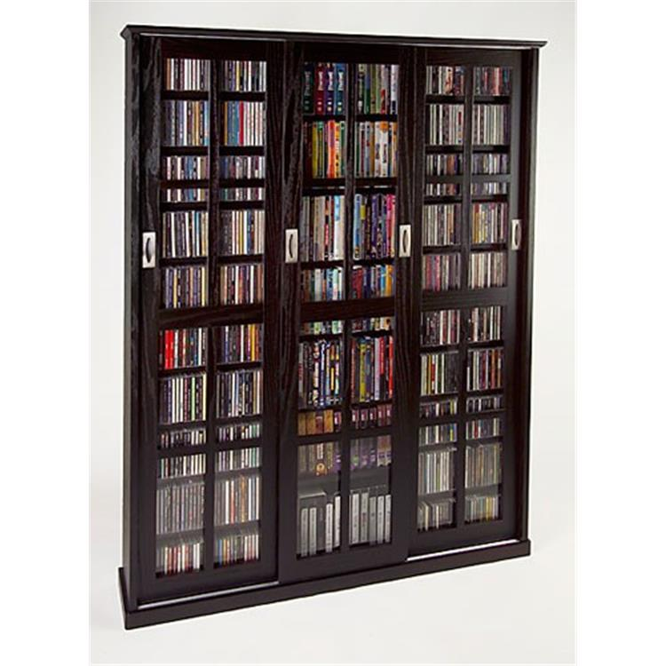 Leslie Dame Multimedia Wall Cabinet