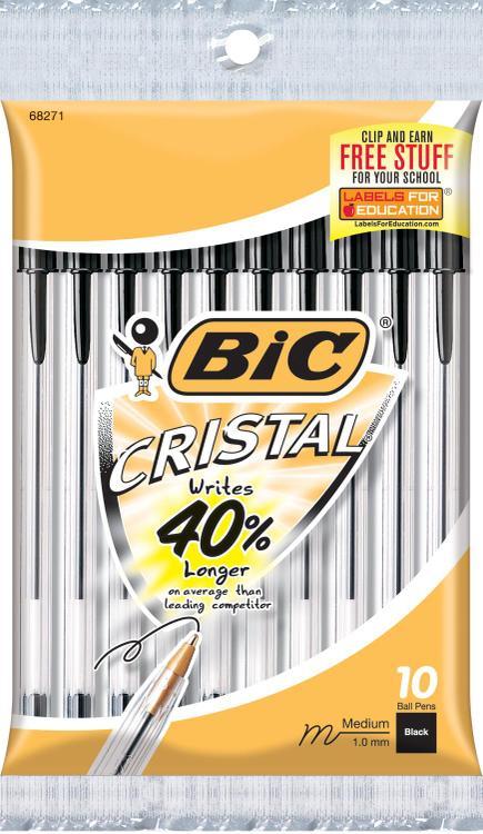 Msp101-Black Cristal Stic Pen