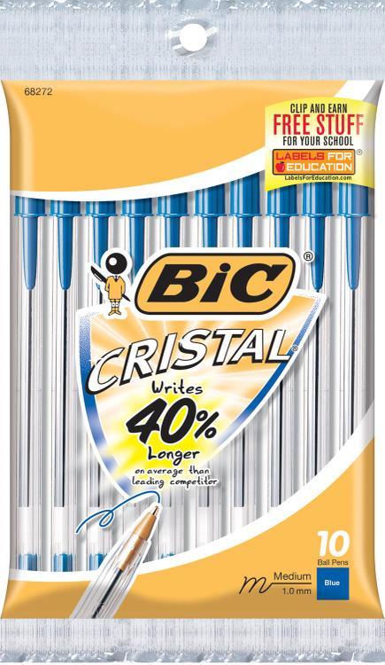 Msp101-Blue Cristal Stic Pen