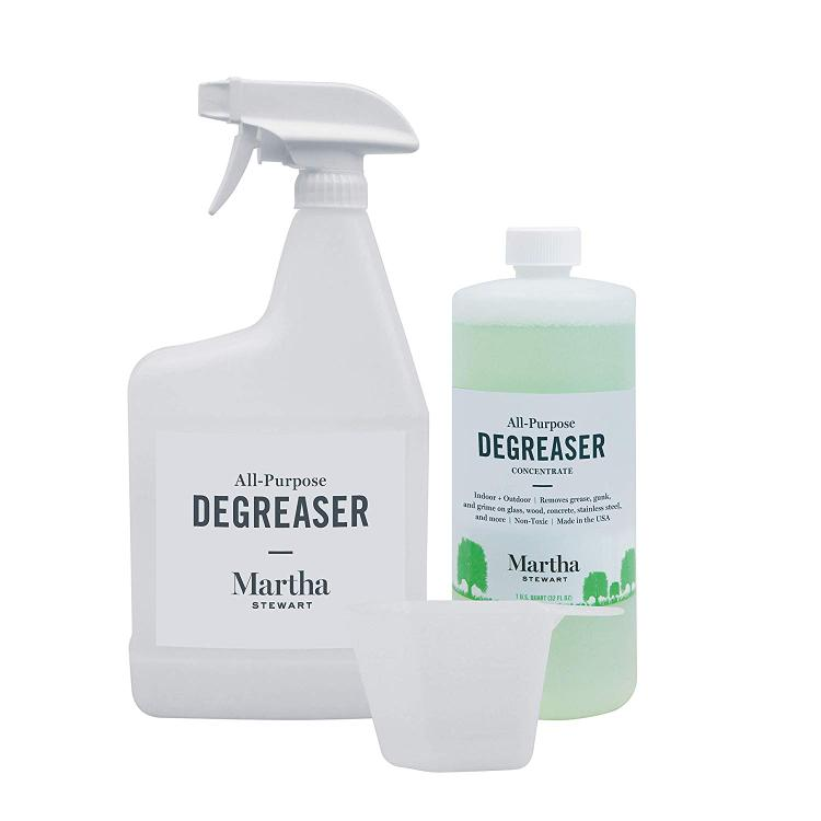 Martha Stewart MTS-APD1Q Heavy Duty All-Purpose Super Degreaser Concentrate with Empty Sprayer Bottle