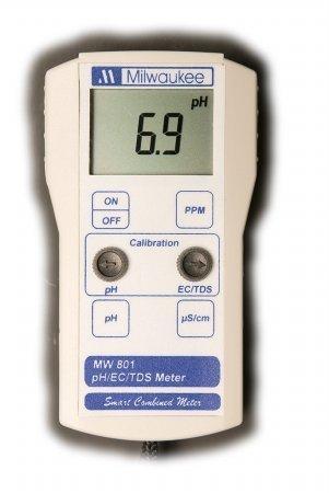 pH/EC/TDS Combo Portable Meter