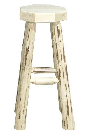 Montana Woodworks Montana Collection Backless Barstool, Ready to Finish