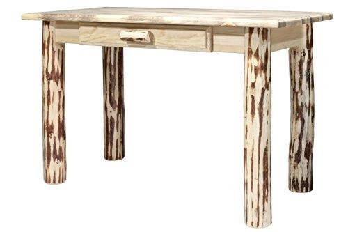 Montana Woodworks Montana Collection Writing Desk, Ready to Finish
