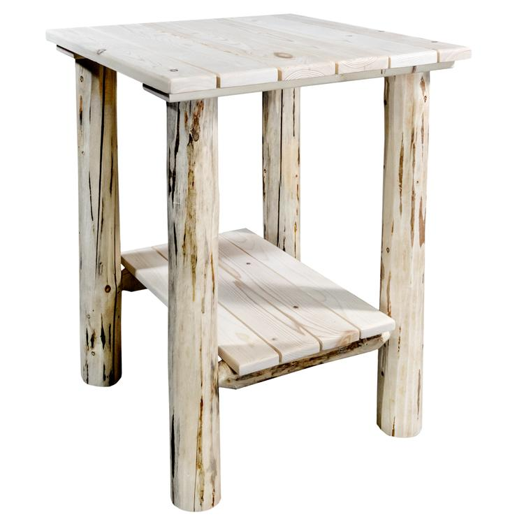 Montana Woodworks  Montana Collection Exterior End Table, Ready to Finish [Item # MWENS]