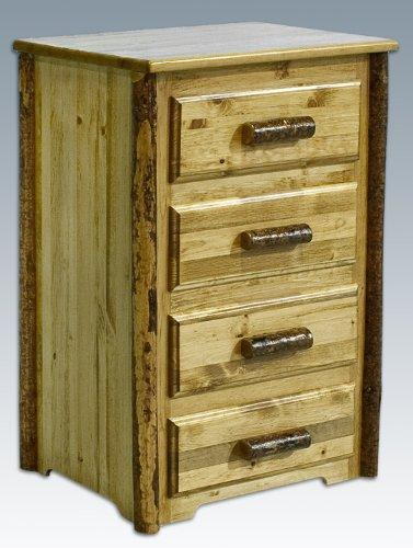 Montana Woodworks Glacier Country Collection 4 Drawer Chest of Drawers