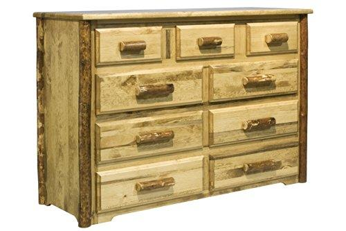 Montana Woodworks Glacier Country Collection 9 Drawer Dresser