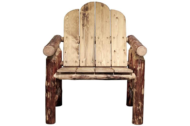 Montana Woodworks Glacier Country Collection Deck Chair