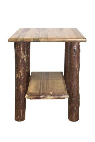 Montana Woodworks Glacier Country Collection Nightstand with Shelf
