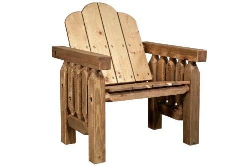 Montana Woodworks Homestead Collection Deck Chair, Exterior Stain Finish