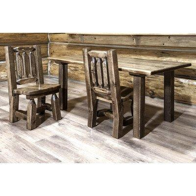 Montana Woodworks Homestead Collection Child's Table, Stain & Clear Lacquer Finish
