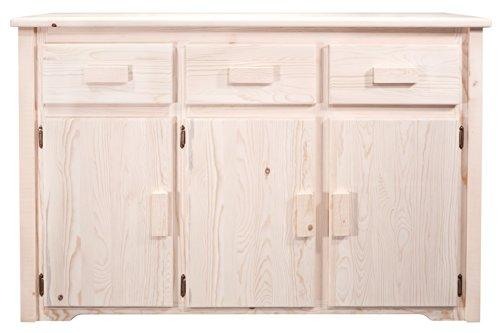 Montana Woodworks Homestead Collection Sideboard, Ready to Finish