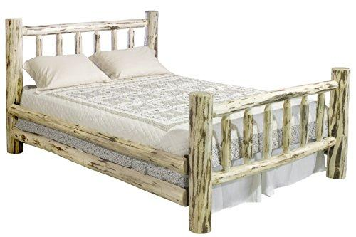 Montana Woodworks Montana Collection Eastern King Bed, Clear Lacquer Finish