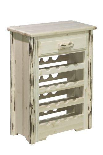 Montana Woodworks Montana Collection Wine Cabinet, Ready to Finish