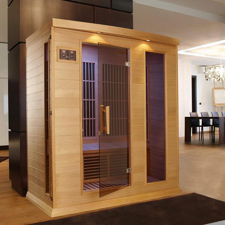 Golden Designs Maxxus Infrared Hemlock Sauna