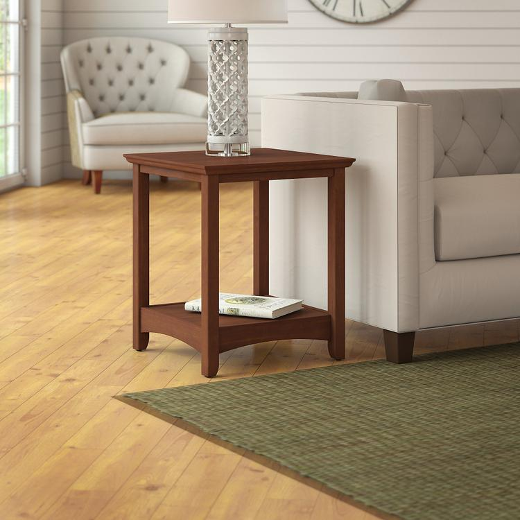 Bush Furniture Buena Vista End Tables Set of 2