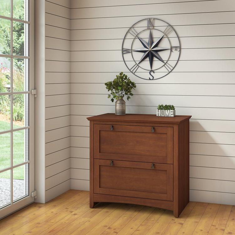 Bush Furniture Buena Vista 2 Drawer Lateral File Cabinet