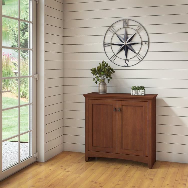 Bush Furniture Buena Vista Small Storage Cabinet with Doors [Item # MY13696-03]