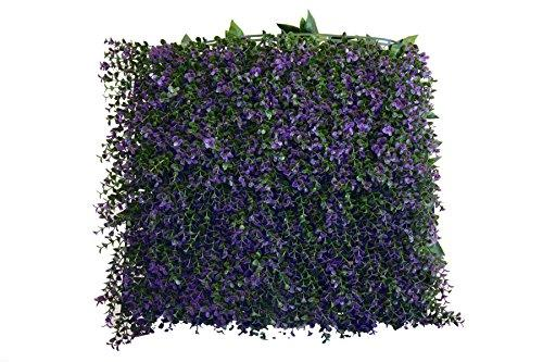 Artificial Lavender Wall Panels, Set of 4