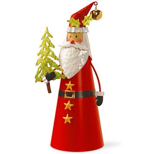 National Tree Metal Santa Character