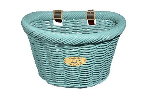Cruiser Adult D-Shape Basket, Turquoise