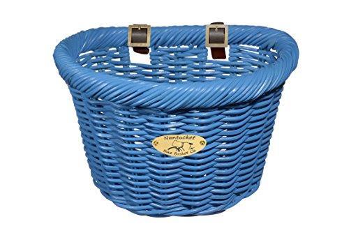 Cruiser Adult D-Shape Basket, Bright Blue