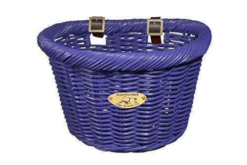 Cruiser Adult D-Shape Basket, Purple
