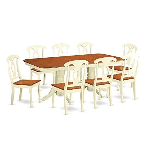 Dining Room Set - Dining Table With Leaf And Chairs