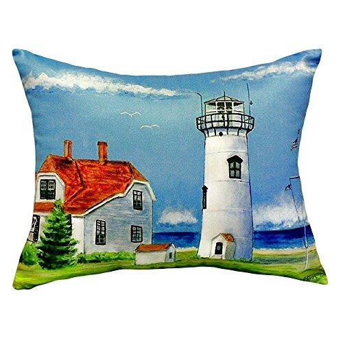 Chatham MA Lighthouse No Cord Pillow 16x20