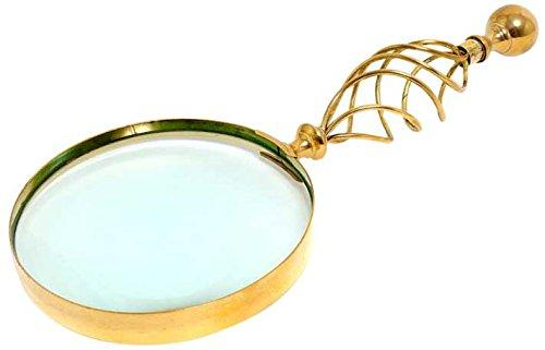 Magnifier in wood box- 5 inches