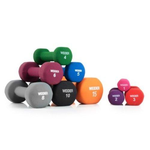 Weider NEOPRENE DUMBBELL 5#