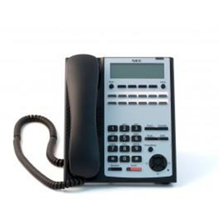 SL1100 12-Button Full-Duplex Tel (Black)