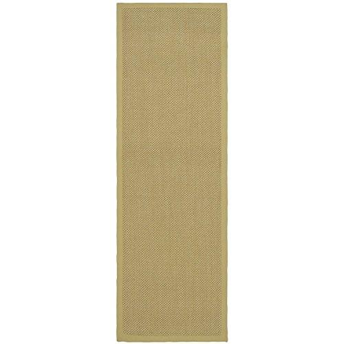Traditional Rug - Natural Fiber Sisal -Maize/Wheat