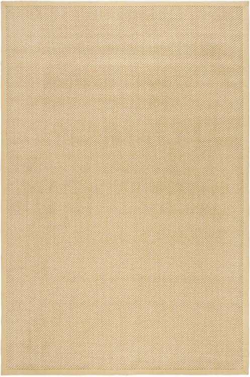 Natural Fiber Brown Large Rectangle Rug