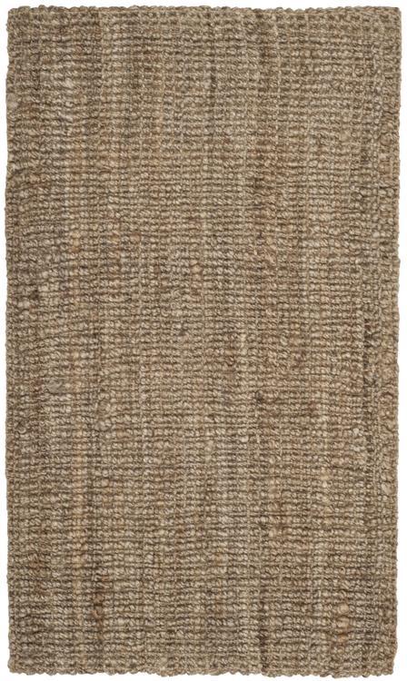 Safavieh Natural Fiber Natural/Grey Large Rectangle Rug