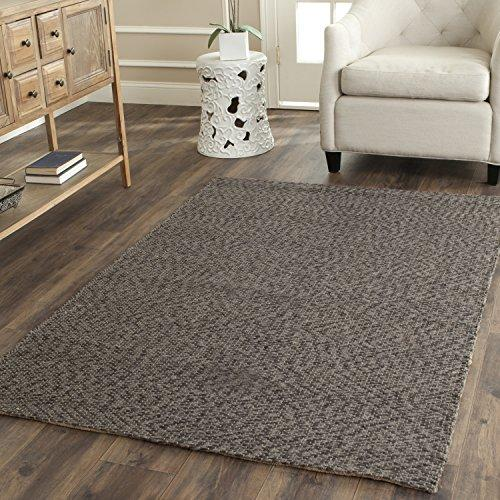 Traditional Rug - Natural Fiber Sisal -Grey/Grey