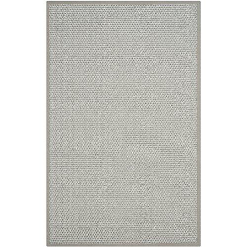 Traditional Rug - Natural Fiber Sisal - Chunky Sisal Panama -Silver/Grey