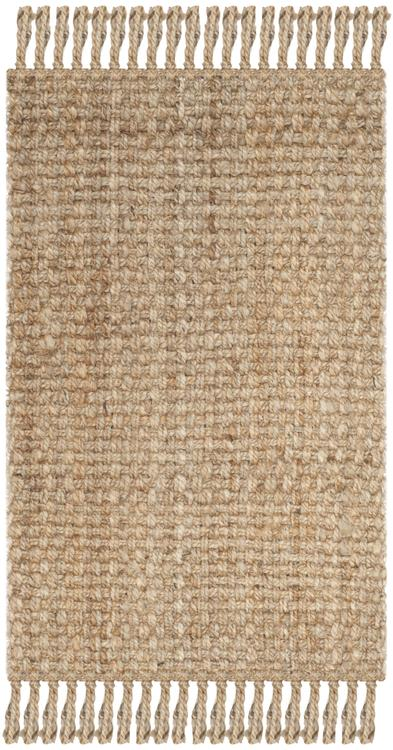 Natural Fiber Natural Large Rectangle Rug