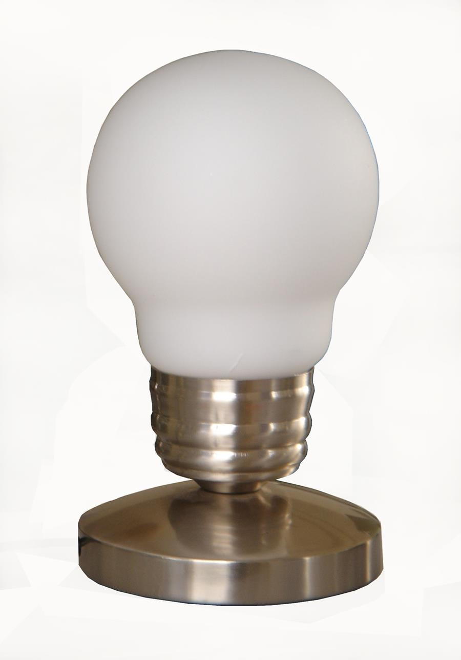 Edison Style Minimalist Idea Bulb Mini Touch Lamp