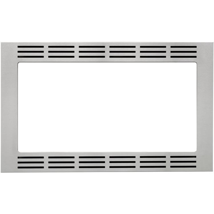 Panasonic 30 In. Wide Trim Kit for Panasonic's 1.6 Cu. Ft. Microwave Ovens - Stainless Steel