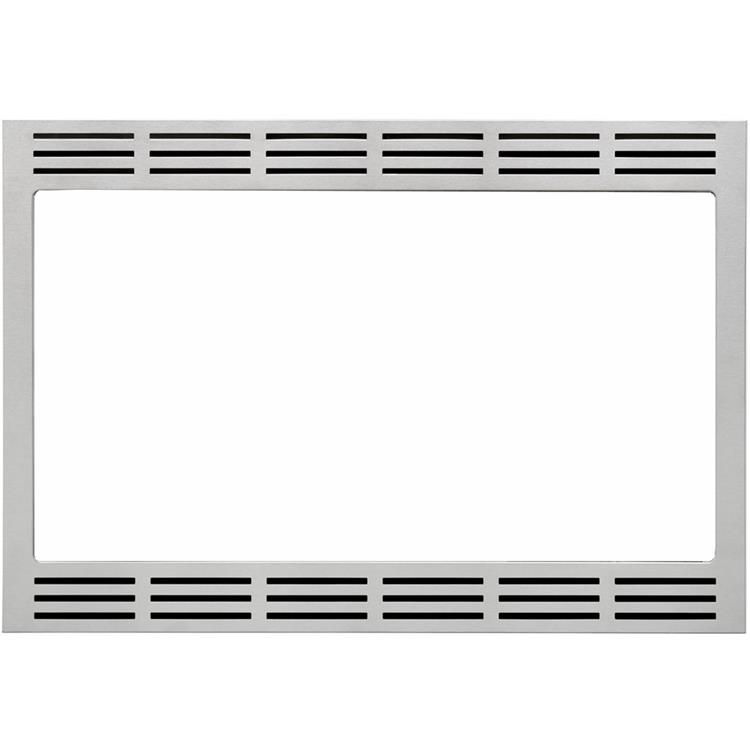 Panasonic 27 In. Wide Trim Kit for Panasonic's 2.2 Cu. Ft. Microwave Ovens - Stainless Steel