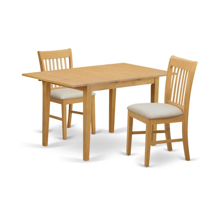 East West Furniture Dinette Set- Table With A 12