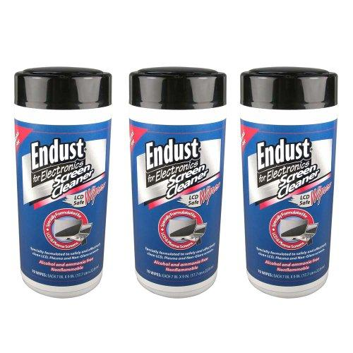 3 Pack Endust 11506 Lcd & Plasma Monitor Cleaner Pop-up Wipes