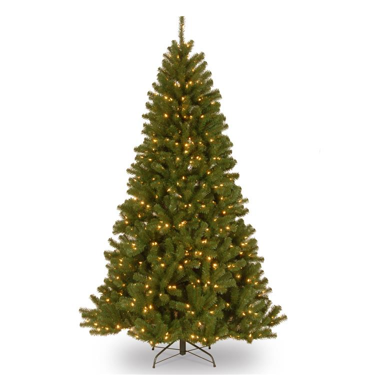 National Tree North Valley(R) Spruce Tree with Clear Lights [Item # NRV7-300-70]