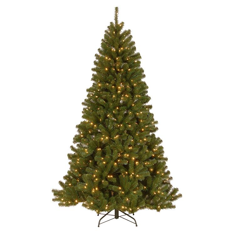 National Tree North Valley(R) Spruce Tree with Clear Lights [Item # NRV7-300-75]