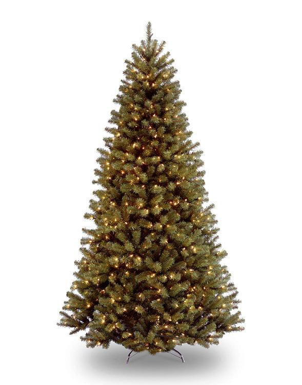 National Tree North Valley Spruce Tree with Clear Lights [Item # NRV7-300-90]